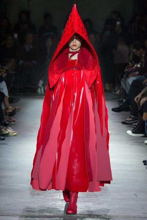 Comme des Garçons - little red riding hood costume