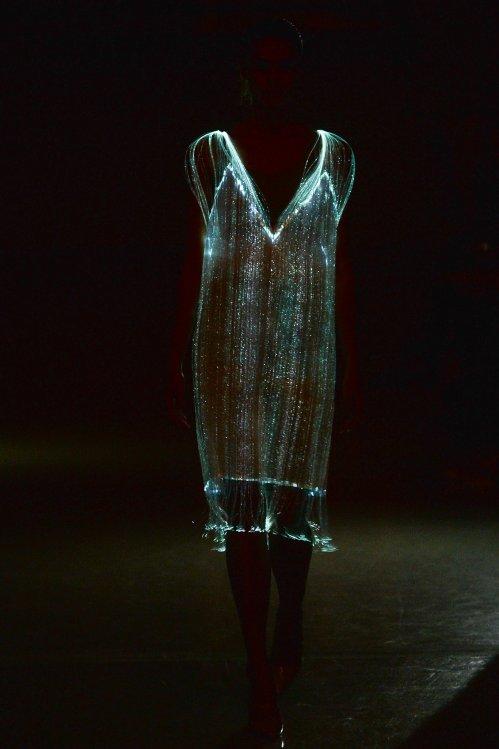 Richard Nicoll - bioluminescent creature costume